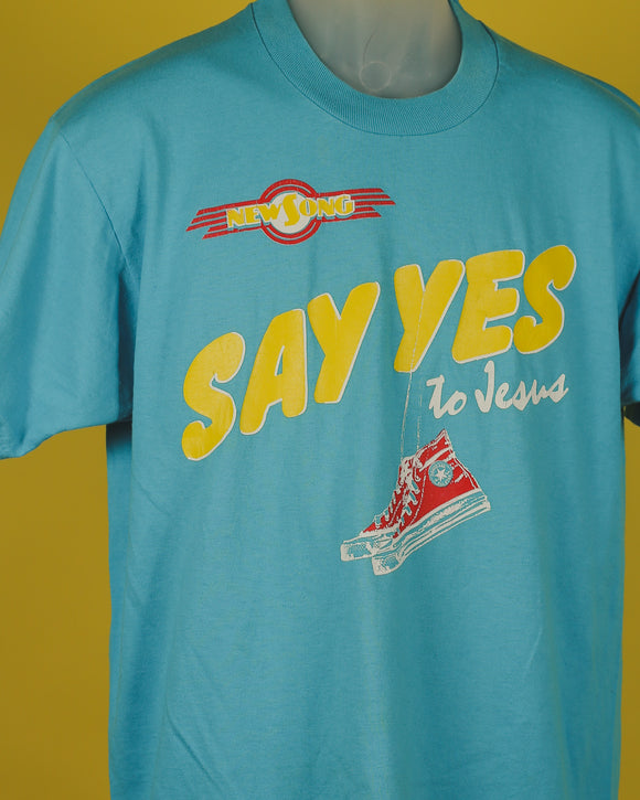 Vintage Say Yes Jesus T-Shirt