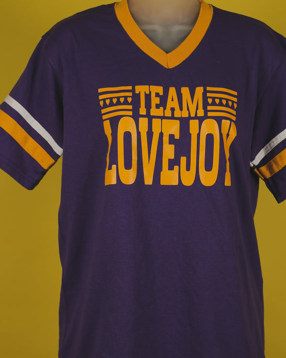 Team Love Joy Jersey T-Shirt