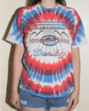 Tie Dye 90s Pinewood Derby T-Shirt