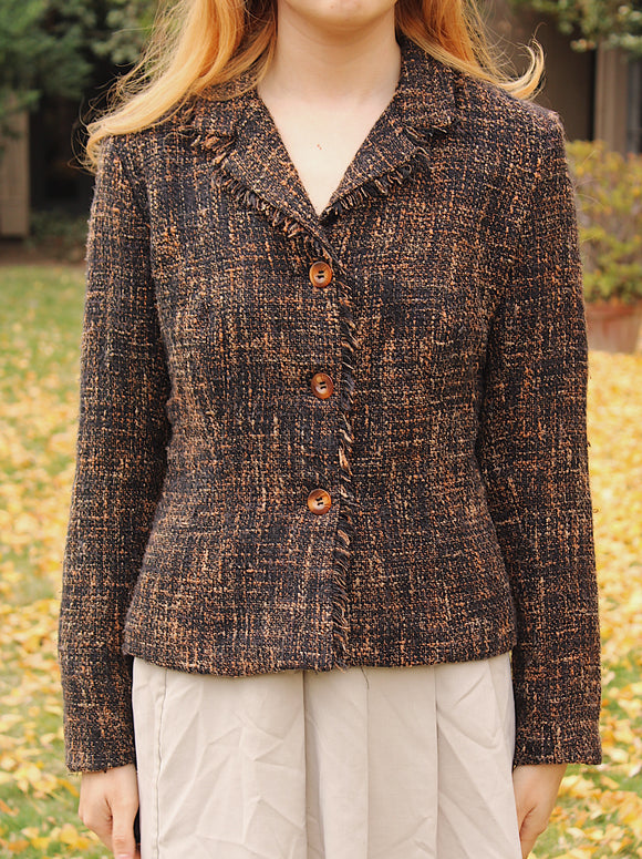 Tweed Blazer (Recycled)
