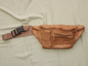 Leather Fanny Pack (Recycled)
