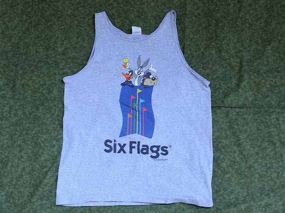 Six Flags Looney Toons Tank Top (Vintage)