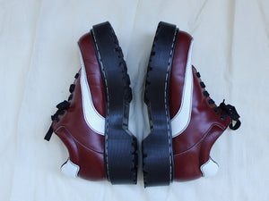 Red and White Doc Martens 8345/51 (Recycled)