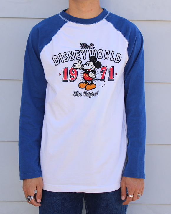 Disney World 1971 Baseball T (Recycled)