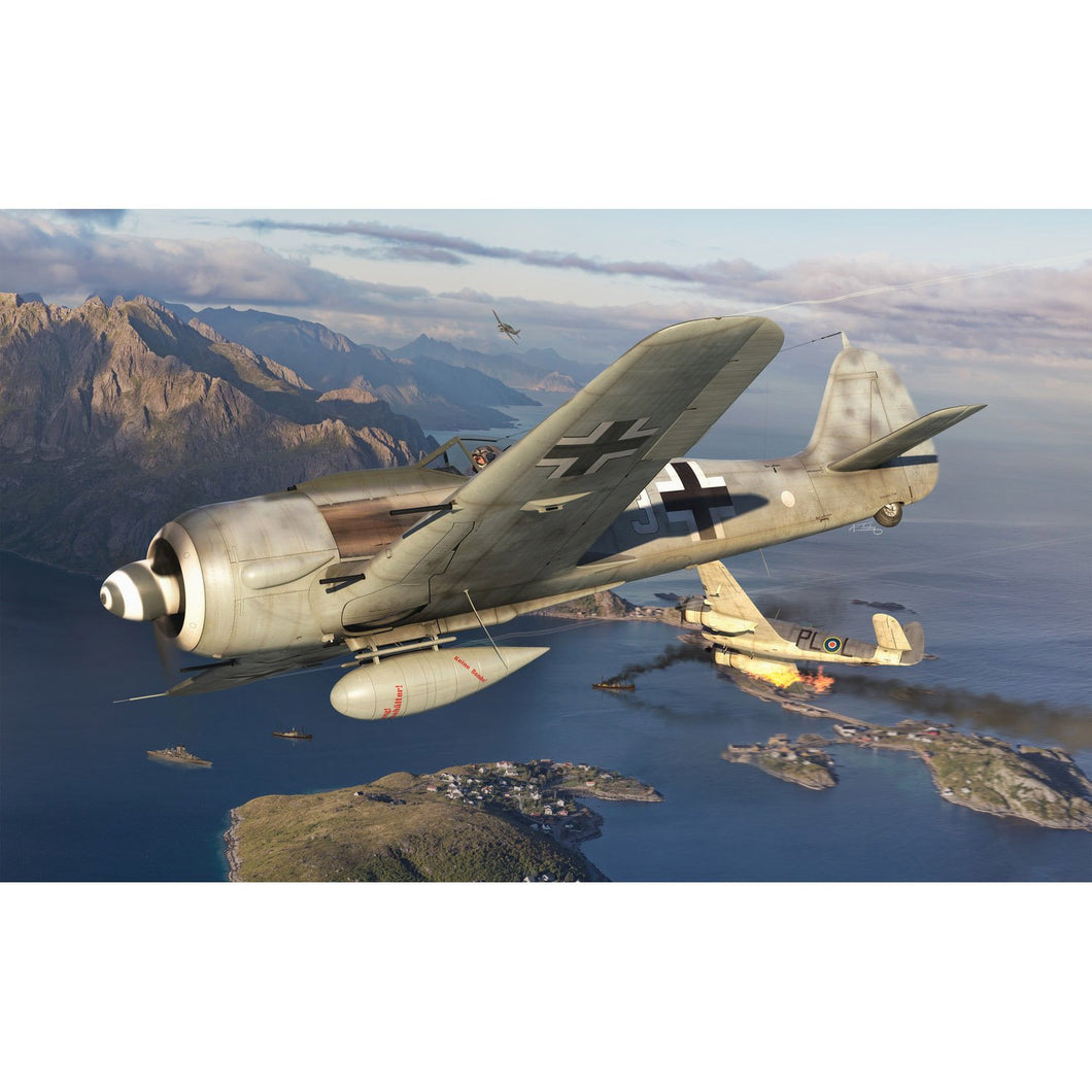 Focke Wulf Fw190A-8  - A01020A -Available