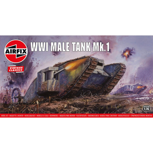 WWI Male Tank Mk.I - A01315V -Available