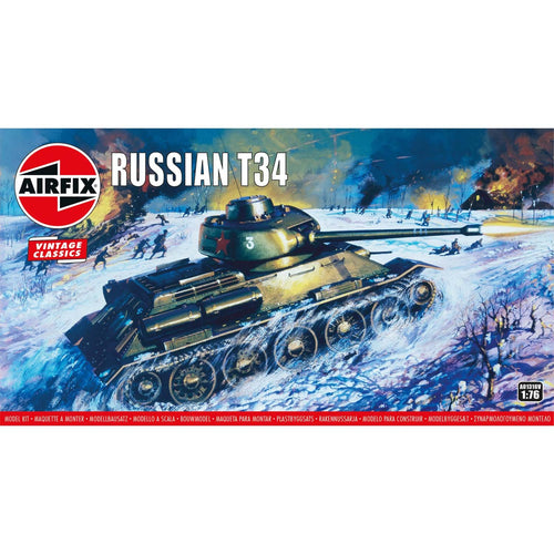 Russian T34 - A01316V -Available