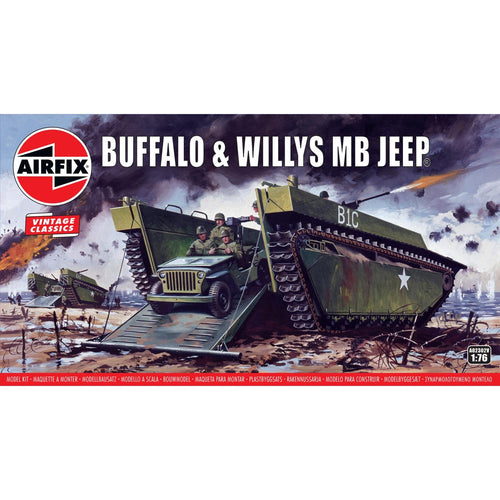 Buffalo Willys MB Jeep - A02302V -Available