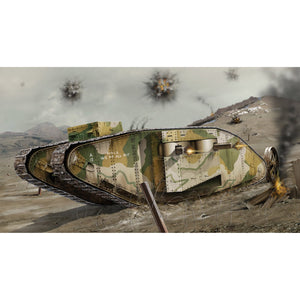 WWI Female Tank - A02337V -Available