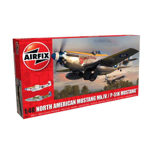 North American Mustang Mk.IV/P-51K Mustang - A05137 -Available