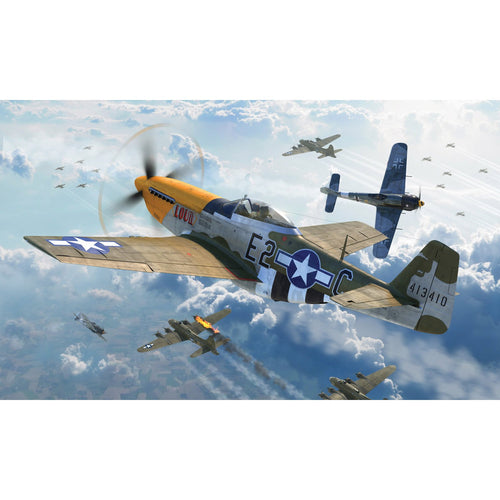 North American P51-D Mustang (Filletless Tails) - A05138 -Available