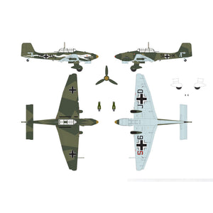 Junkers JU87B-2/R-2 - A07115 -Available