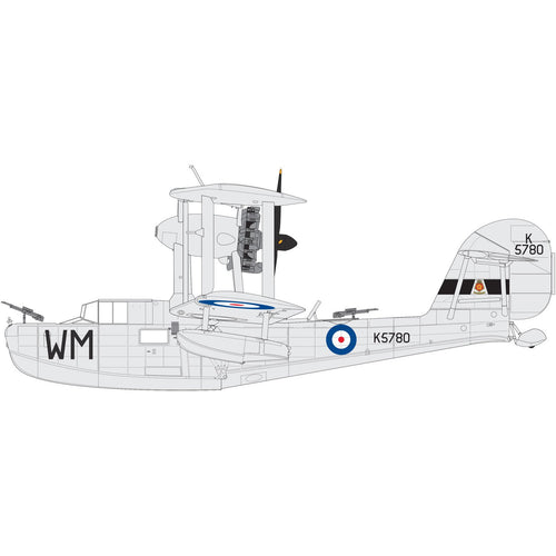 Supermarine Walrus Mk.1 'Silver Wings' - A09187 -Available