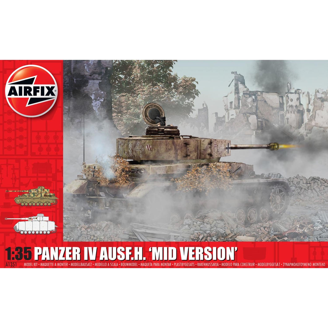 Panzer IV Ausf.H Mid Version - A1351 -Available