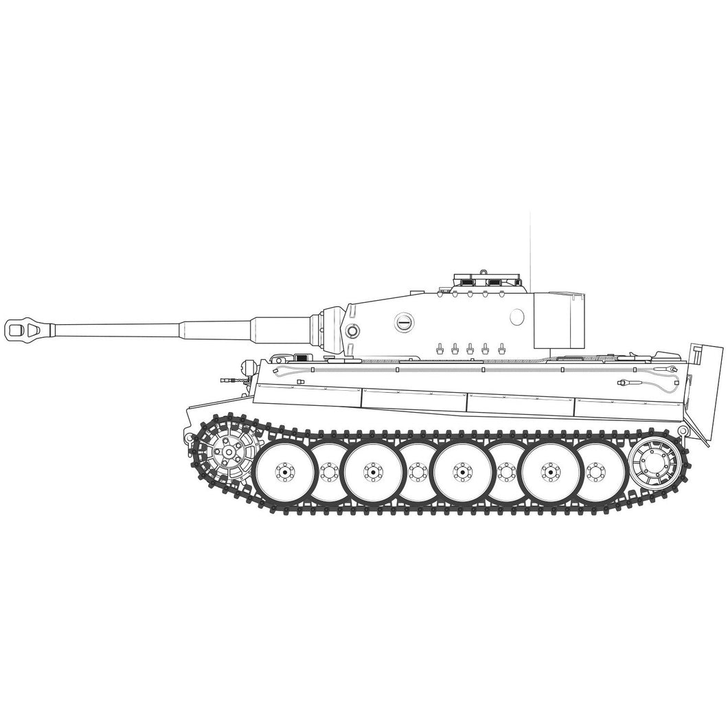 Tiger-1 Mid Version - A1359 -Available