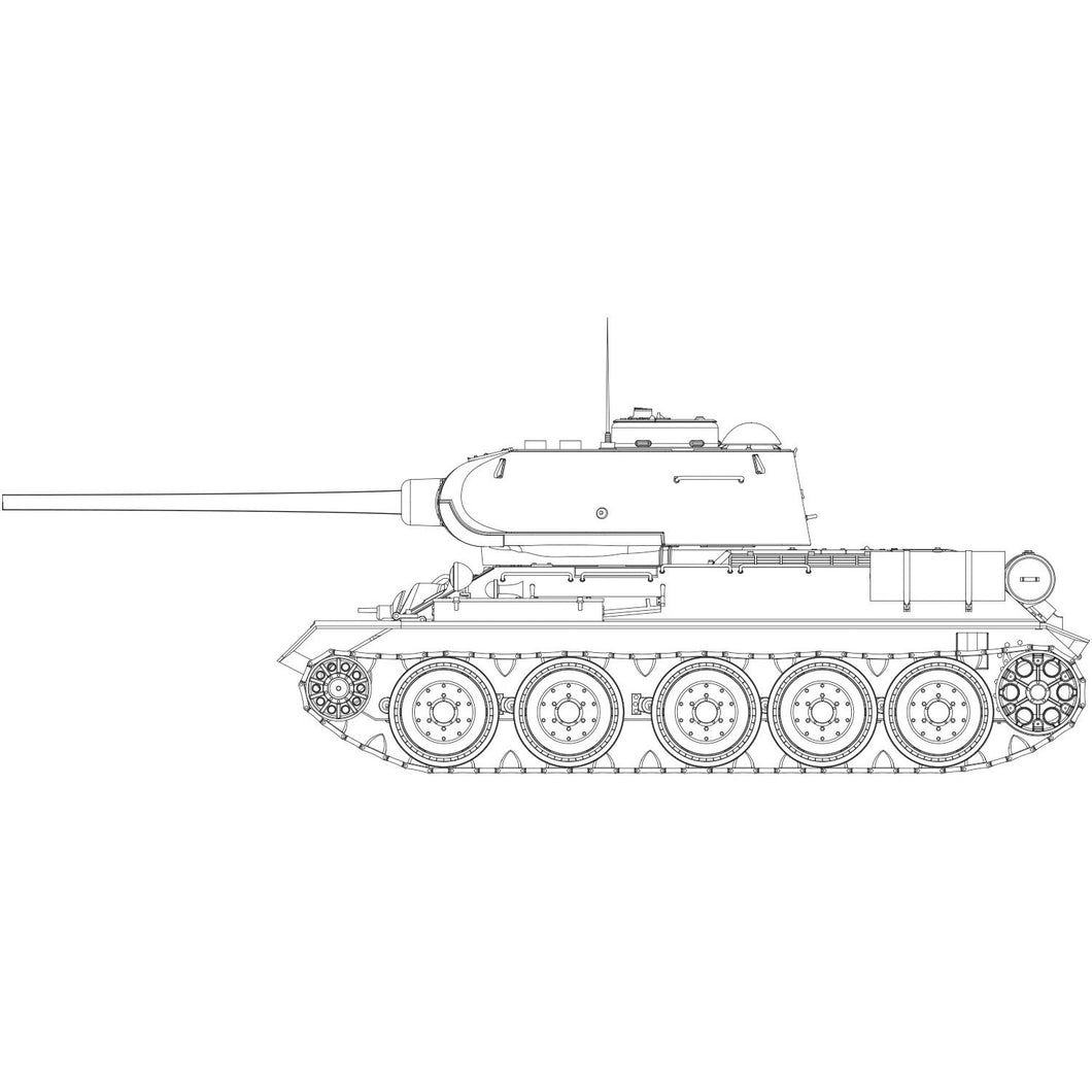 T34-85 112 Factory Production - A1361 -Available