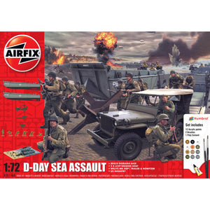 75th Anniversary D-Day Sea Assault Set - A50156A -Available