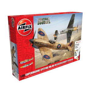 Spitfire Mk.Ia Messerschmitt Bf109E-4 Dogfight Double Gift Set - A50160 -SOLD OUT