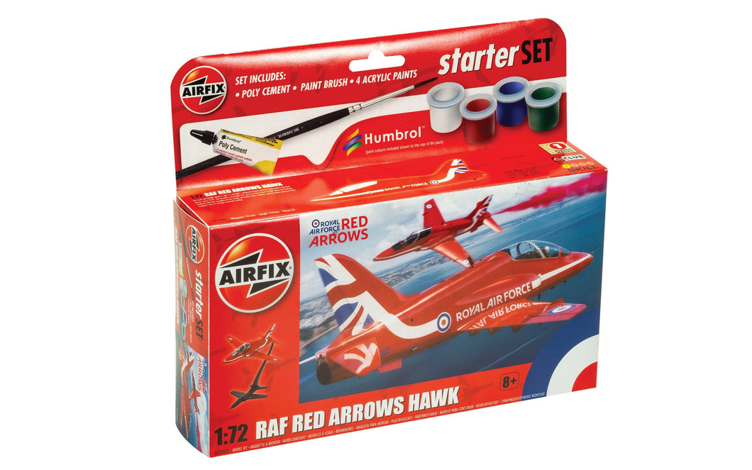 Starter Set NEW  Red Arrows Hawk  - A55002 - PRE ORDER - New For 2021 Estimated 01-03-21