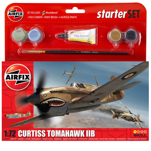 Small Starter Set - Curtiss Tomahawk IIB - A55101 -Available