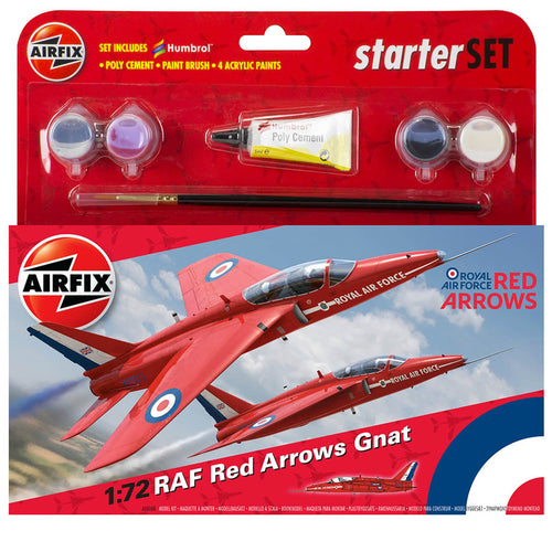 Small Starter Set - RAF Red Arrows Gnat  - A55105 -Available