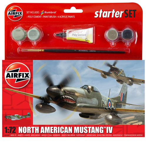 Small Starter Set - North American Mustang Mk.IV - A55107 -Available