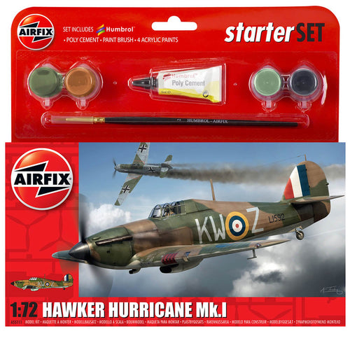 Small Starter Set - Hawker Hurricane Mk.I - A55111 -Available