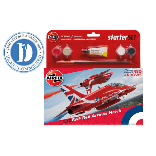 Medium Starter Set - RAF Red Arrows Hawk  - A55202C -PRE ORDER Apr-20