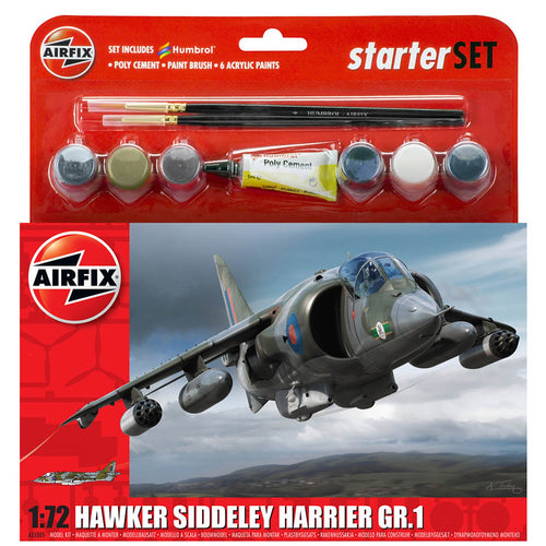 Medium Starter Set - Hawker Harrier GR.1 - A55205 -Available