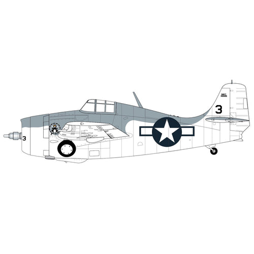 Medium Starter Set - Grumman F4F-4 Wildcat - A55214 -Available