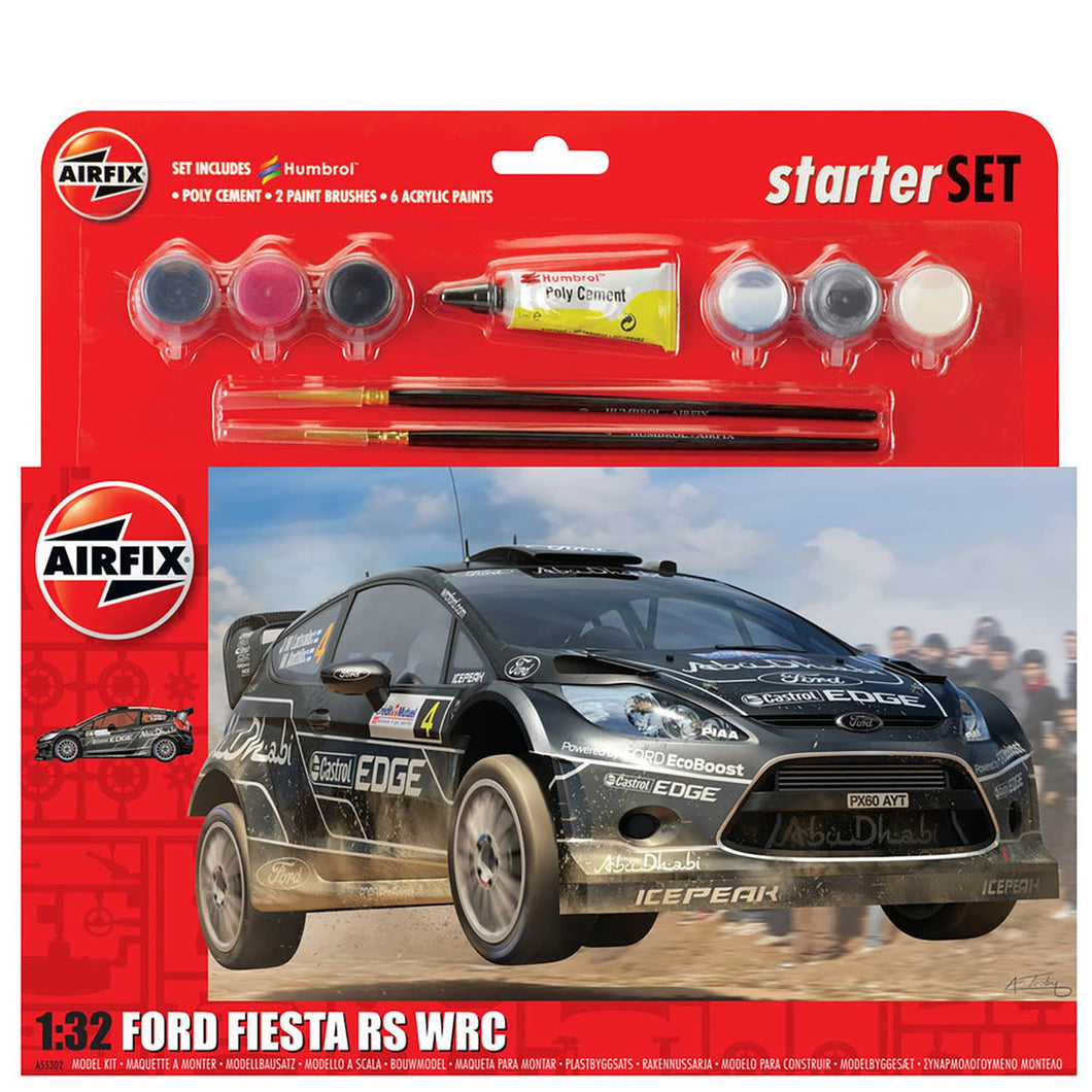 Large Starter Set - Ford Fiesta WRC  - A55302 -Available