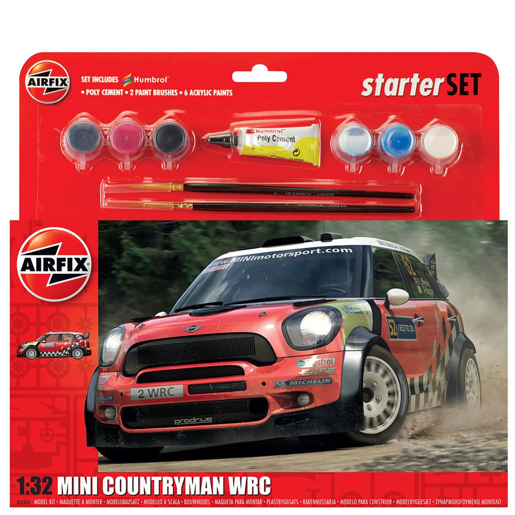 Large Starter Set - MINI Countryman WRC  - A55304 -Available