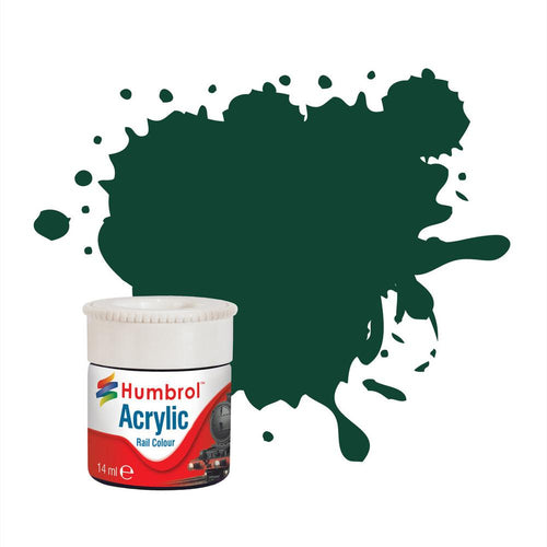 GWR/BR Green RC405 14ml Acrylic Rail Paint - AB2405 -Available