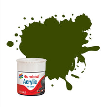 Load image into Gallery viewer, Maunsell Green RC410 14ml Acrylic Rail Paint - AB2410 -Available