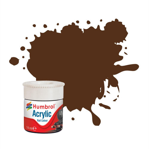 Pullman Umber Brown RC415 14ml Acrylic Rail Paint - AB2415 -Available