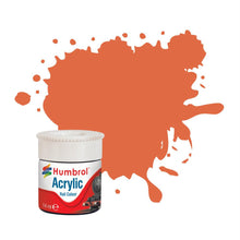 Load image into Gallery viewer, Orange Lining RC420 14ml Acrylic Rail Paint - AB2420 -Available