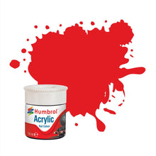 Load image into Gallery viewer, Virgin Red RC421 14ml Acrylic Rail Paint - AB2421 -Available