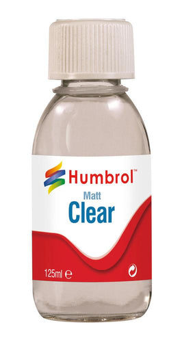Clear Matt 125ml - AC7434 -Available