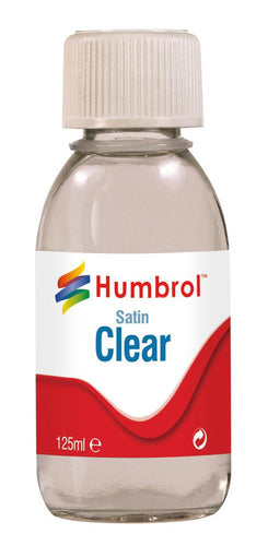 Clear Satin 125ml - AC7435 -Available