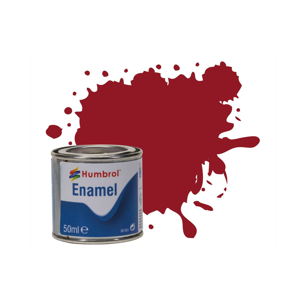 No 20 Crimson - Gloss   - 50 ml Enamel Paints - AQ0020