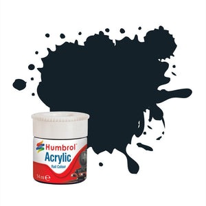 Executive Dark Grey RC414 14ml Acrylic Rail Paint - AB2414 -Available