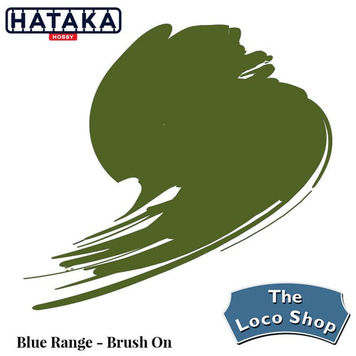 HATAKA 17ML INTERIOR GREEN HTKB211