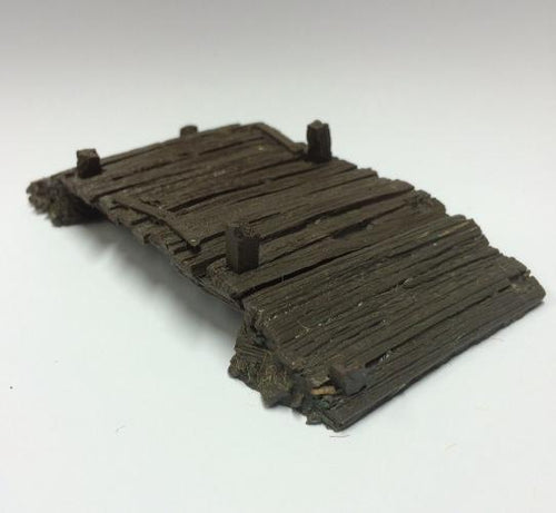 OLD TIMBER BRIDGE - 25/28mm(EX BZTB1) 125mm x 63mm x 20mm apx - BZBT1