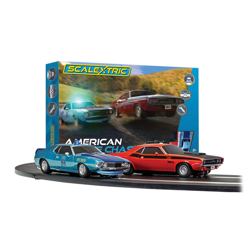 American Police Chase (AMC Javelin v Dodge Challenger) - C1405M -Available
