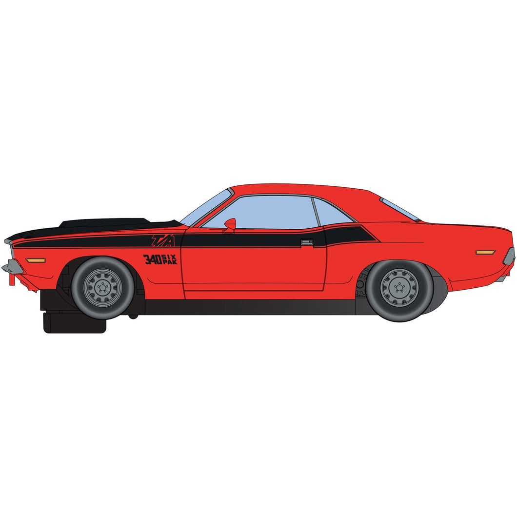 Dodge Challenger T/A - Red and Black - C4065 -Available