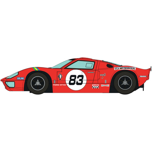 Ford GT40 - Red No.83 - C4152 -PRE ORDER Q3 2020