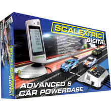 Load image into Gallery viewer, Scalextric Digital Advanced 6 Car Powerbase - C7042