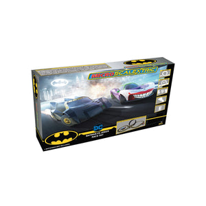 Micro Scalextric Batman vs Joker Battery Powered Race Set - G1155M -PRE ORDER Q3 2020