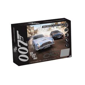 Micro Scalextric James Bond 'No Time To Die' Battery Powered Race Set - G1161M -PRE ORDER Q3 2020