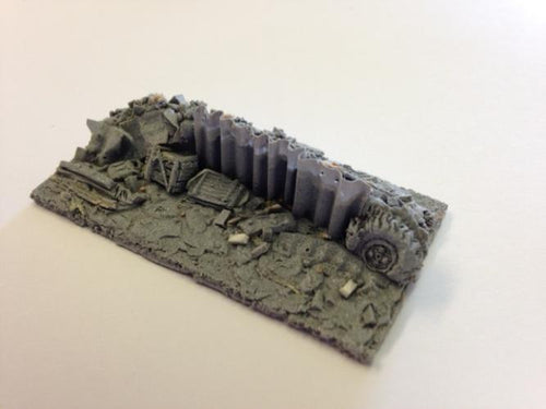 15mm Barricades -boxed  - J152